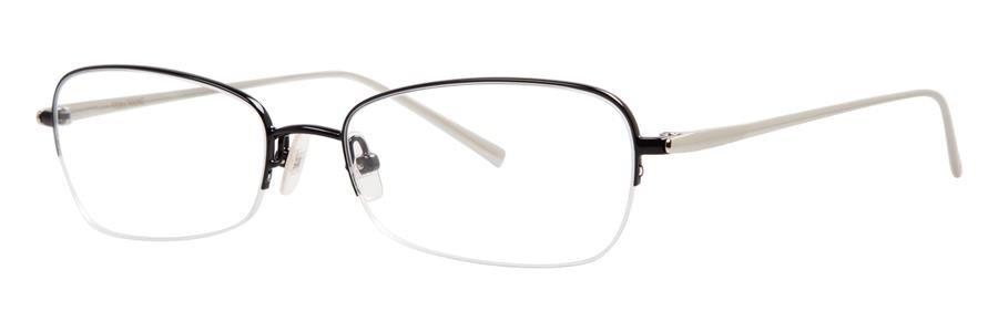 Vera Wang EXOTIQUE Black Eyeglasses Size52-16-140.00