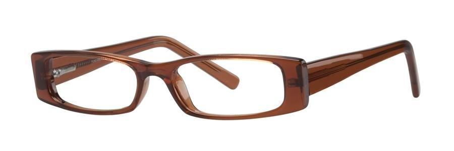 Fundamentals F004 Brown Eyeglasses Size47-17-135.00