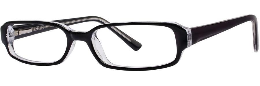 Fundamentals F007 Black Eyeglasses Size48-16-133.00