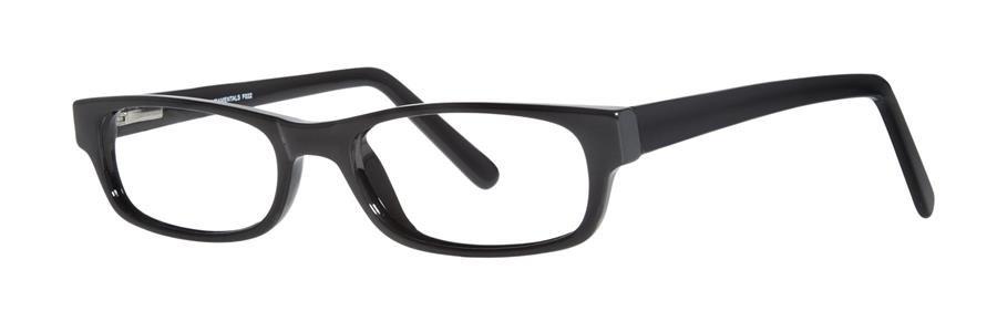 Fundamentals F022 Black Eyeglasses Size50-18-143.00