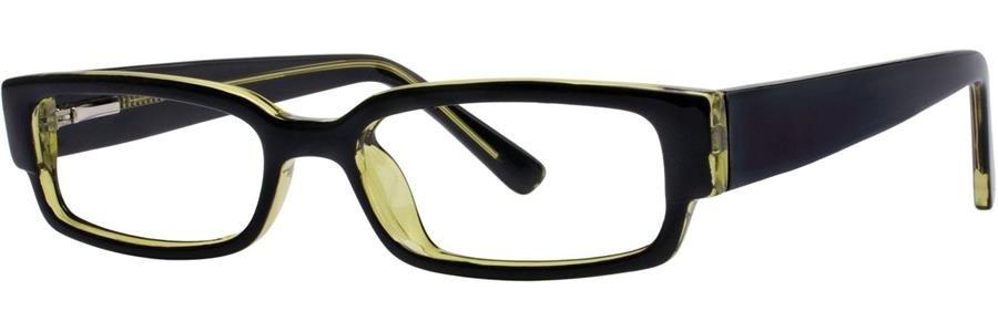 Fundamentals F023 Black Eyeglasses Size49-18-135.00