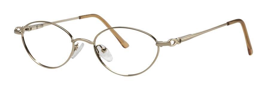 Fundamentals F105 Gold Eyeglasses Size51-18-