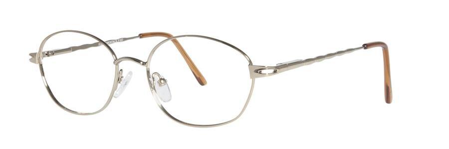 Fundamentals F107 Gold Eyeglasses Size52-17-