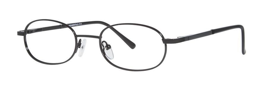 Fundamentals F111 Black Eyeglasses Size49-19-135.00