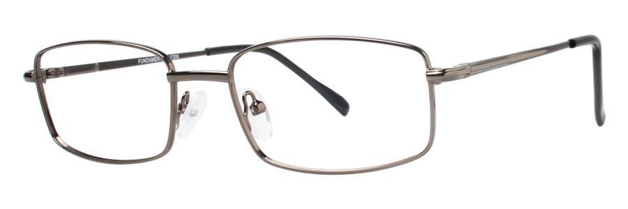 Fundamentals F208 Gunmetal Eyeglasses Size55-17-140.00