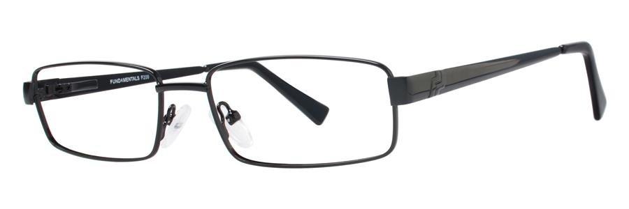Fundamentals F209 Black Eyeglasses Size55-17-140.00
