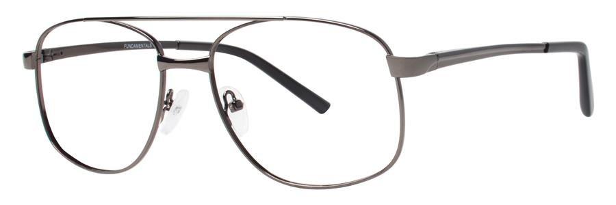 Fundamentals F210 Gunmetal Eyeglasses Size54-18-145.00