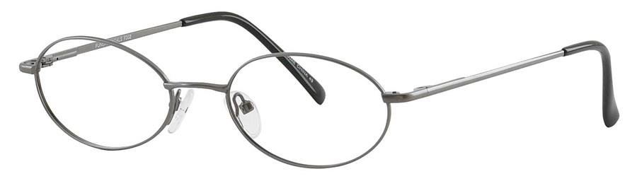 Fundamentals F302 Gunmetal Eyeglasses Size51-18-