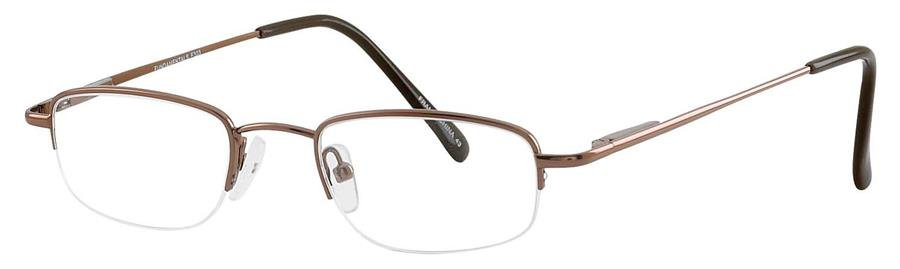 Fundamentals F303 Brown Eyeglasses Size46-18-
