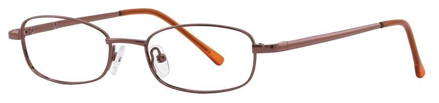 Fundamentals F306 Brown Eyeglasses Size47-17-