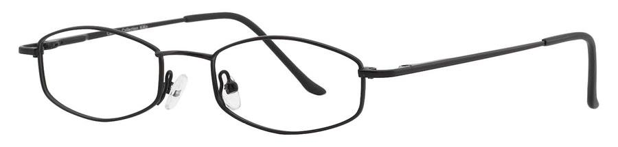 Fundamentals F312 Black Eyeglasses Size48-18-