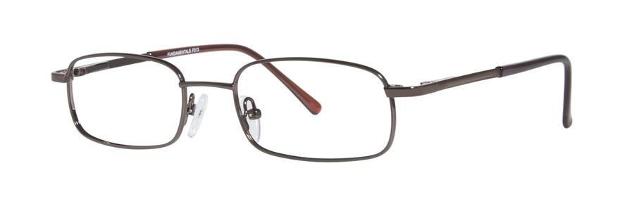 Fundamentals F313 Brown Eyeglasses Size50-18-140.00