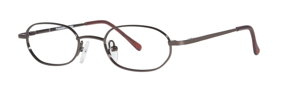 Fundamentals F504 Brown Eyeglasses Size44-18-