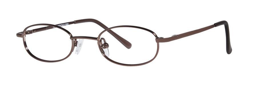 Fundamentals F505 Brown Eyeglasses Size42-18-