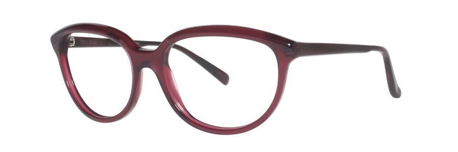 Vera Wang FABIENNE Burgundy Eyeglasses Size56--135.00