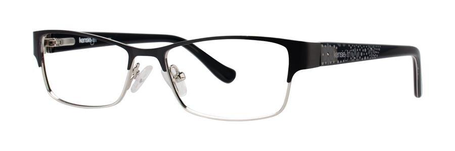 kensie FANCY Black Eyeglasses Size46-14-120.00