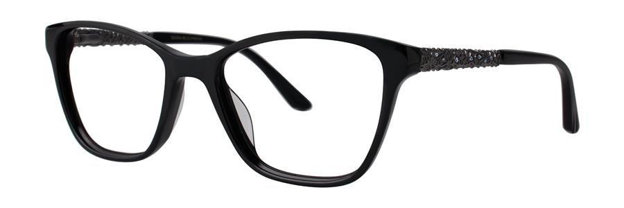 Dana Buchman FAUVE Black Eyeglasses Size53-16-140.00
