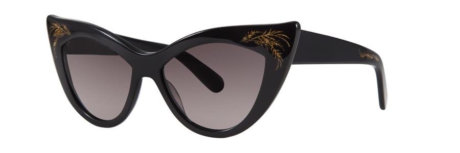 Zac Posen FIONA Black Sunglasses Size54-15-135.00