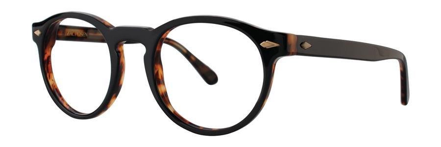 Zac Posen FLORIAN Black Eyeglasses Size49-23-143.00