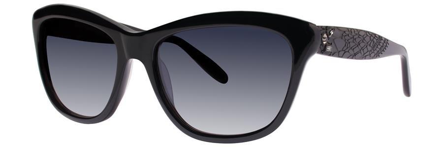 Vera Wang FREYA Black Sunglasses Size55-17-138.00