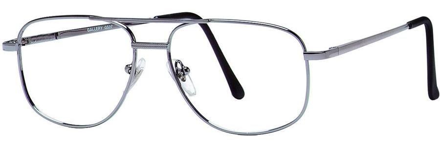 Gallery G507 Gunmetal Eyeglasses Size54-15-140.00