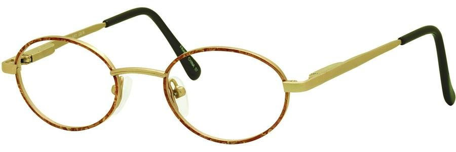 Gallery G514 Light Brown Eyeglasses Size43-17-125.00