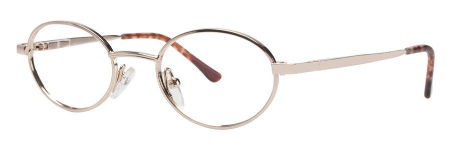 Gallery G514 Shiny Gold Eyeglasses Size43-17-125.00