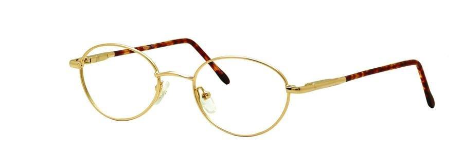 Gallery G517 Shiny Gold Eyeglasses Size49-19-140.00