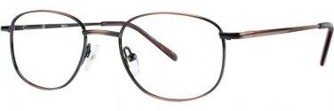 Gallery G521 Ant.Brown Eyeglasses Size48-18-135.00