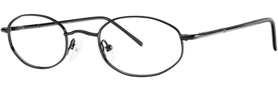Gallery G531 Black Eyeglasses Size45-19-130.00