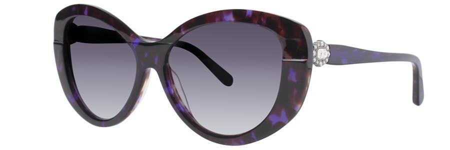 Vera Wang GALADRIEL Purple Tortoise Sunglasses Size55-15-138.00