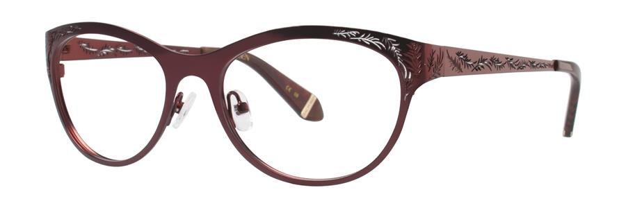 Zac Posen GAYLE Burgundy Eyeglasses Size54-17-140.00