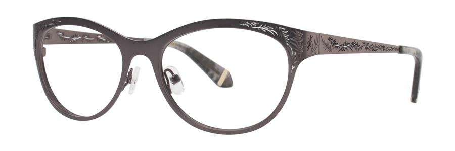 Zac Posen GAYLE Gunmetal Eyeglasses Size54-17-140.00