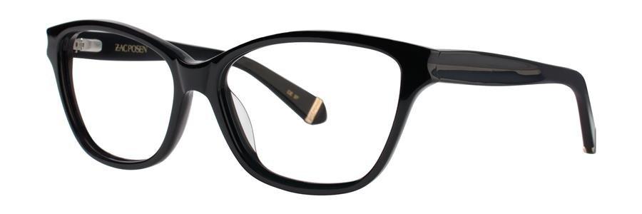 Zac Posen GELSEY Black Eyeglasses Size55-15-135.00