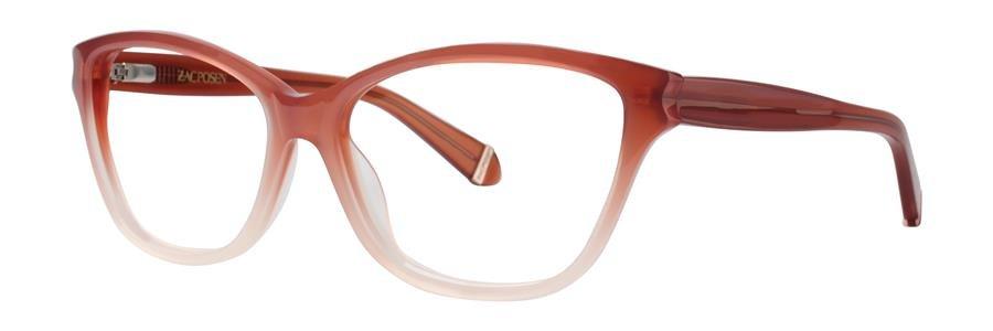 Zac Posen GELSEY Rose Eyeglasses Size53-15-130.00