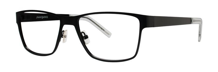 Jhane Barnes GIGABYTE Black Eyeglasses Size56-17-145.00