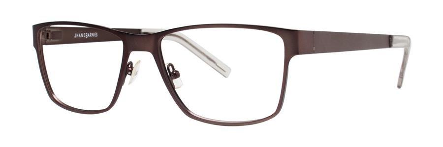 Jhane Barnes GIGABYTE Brown Eyeglasses Size56-17-145.00