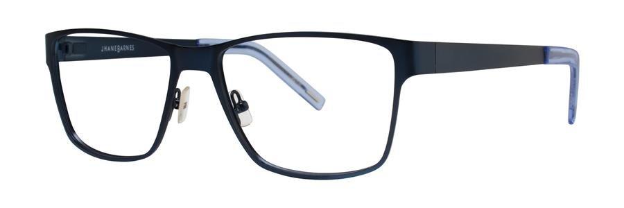 Jhane Barnes GIGABYTE Navy Eyeglasses Size58-17-150.00
