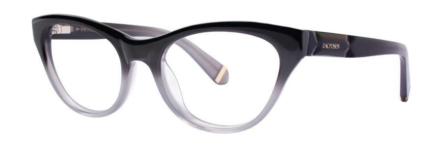 Zac Posen GLORIA Gray Eyeglasses Size49-18-130.00