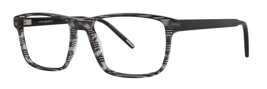 Jhane Barnes GOOGOLPLEX Black Eyeglasses Size56-17-143.00