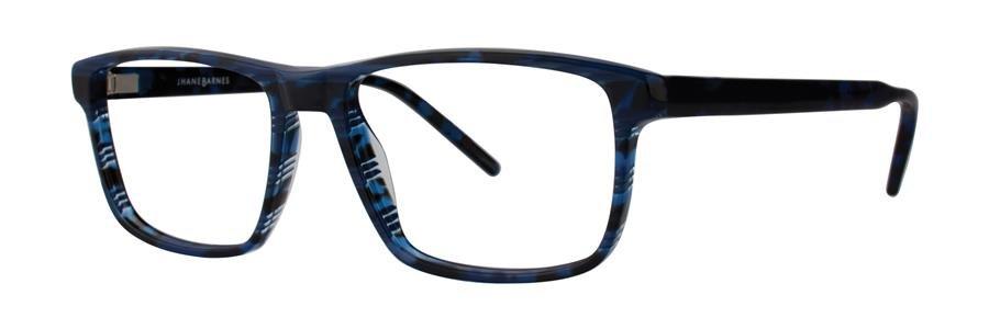 Jhane Barnes GOOGOLPLEX Navy Eyeglasses Size56-17-143.00