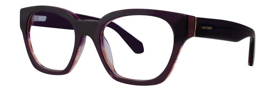 Zac Posen GUNILLA Plum Eyeglasses Size49-19-130.00