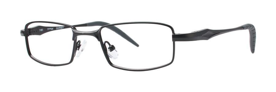 Timex GURNEY Black Eyeglasses Size48-17-135.00