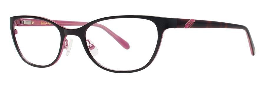 Lilly Pulitzer HAWTHORNE Black Eyeglasses Size52-18-135.00