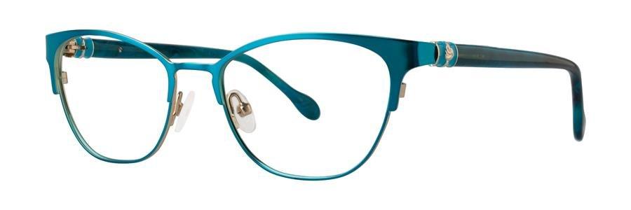 Lilly Pulitzer HAYDEN Ocean Green Eyeglasses Size49-17-135.00