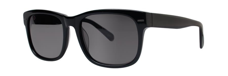 Zac Posen HAYWORTH Black Sunglasses Size55-18-140.00