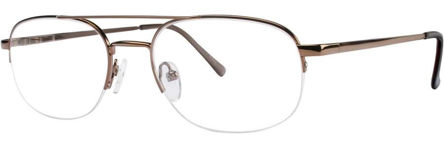 Gallery HERMAN Brown Eyeglasses Size55-19-145.00