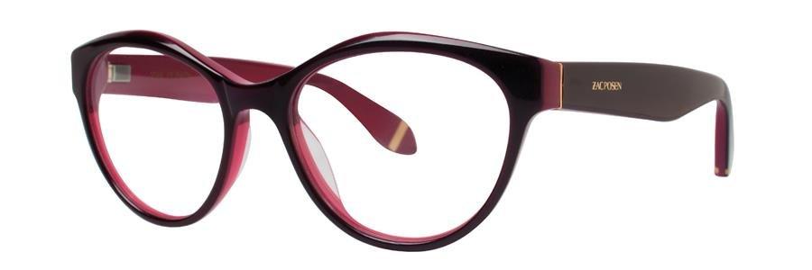 Zac Posen HONOR Berry Eyeglasses Size52-16-135.00