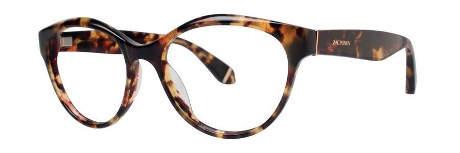 Zac Posen HONOR Tortoise Eyeglasses Size50-16-130.00