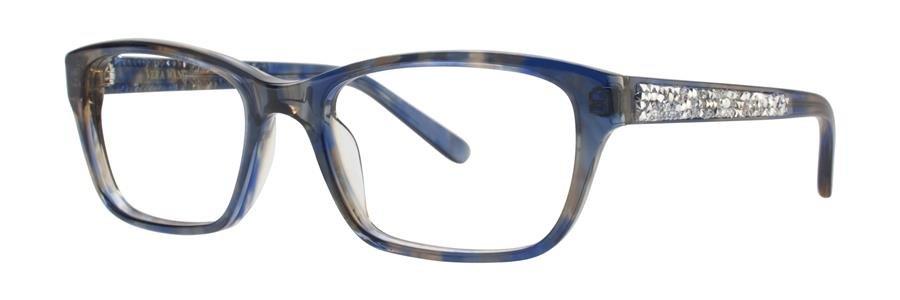 Vera Wang INGA Blue Eyeglasses Size49-16-130.00